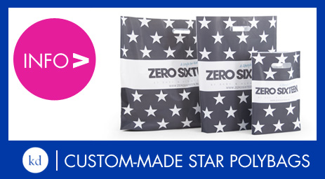 Custommade Stars polybags